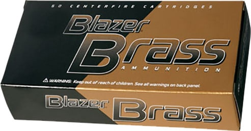 CCI 5204 Blazer 38 Special 125 GR FMJ Flat Nose - 50rd Box