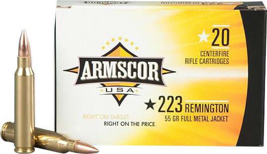 Armscor FAC2231N .223/5.56 NATO 55 GR Full Metal Jacket - 20rd Box