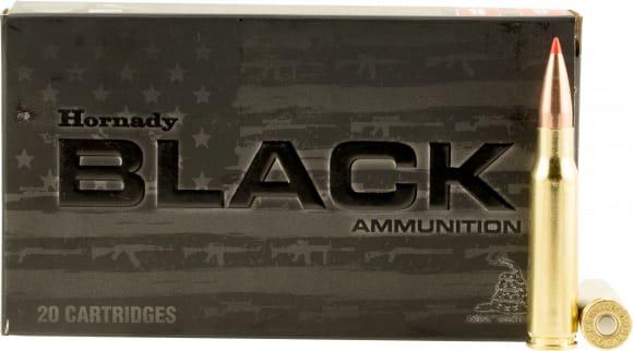 Hornady 80971 Black 308 Win/7.62 NATO 168 GR A-Max - 20rd Box
