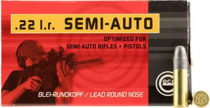 Geco 259940050 22 LR 22 Long Rifle 40 GR LRN - 50rd Box