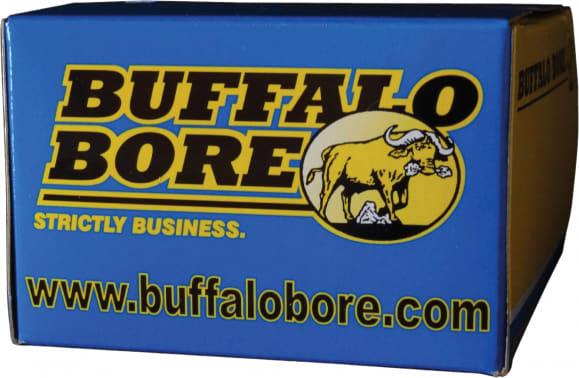 Buffalo Bore Ammunition 30A/20 32 ACP +P 75 GR Hard Cast Flat Nose - 20rd Box