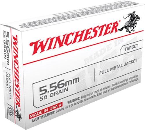 Winchester Ammo Q3131 Best Value 223 Remington/5.56 NATO 55 GR Full Metal Jacket - 20rd Box