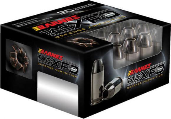 Barnes 21554 TAC-XPD 40 S&W 140 GR TAC-XP - 20rd Box