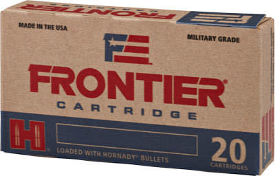 Frontier Cartridge FR140 Frontier .223/5.56 NATO 55 GR Hollow Point Match - 20rd Box