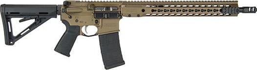 Barrett 16330 REC7 GEN 2 16 KEY MOD Piston Burntbrnz