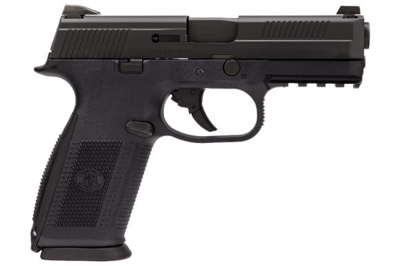 "FN 66915 FNS-40 NMS NS LE .40 S&W 4"" 14+1, 3 Mags, Polymer Grip Black"