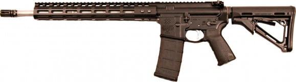 """Noveske Rifleworks 02000406 GEN1 Rogue Hunter 30rd 18"""" M-LOK Black"""