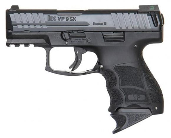 HK VP9SK 9mm 3.39-INCH 10rd NIGHT SIGHTS 3 MAGS - 700009KLE-A5