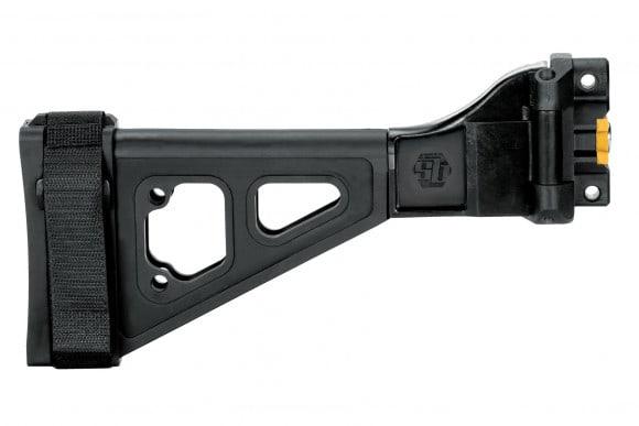 SB Tactical SBT5KA Stabilizing Brace for HK MP5K/SP89 Clones - SBT5KA-01-SB
