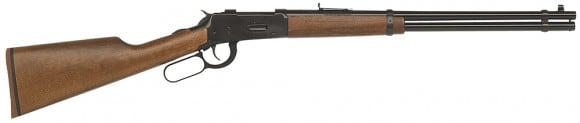 "Mossberg 41010 464 Straight Grip Lever 30-30 Winchester 20"" 7+1 Hardwood Stock Blued"