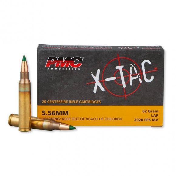 PMC 556K X-Tac 5.56 NATO LAP M855 Ammunition 62GR -Green Tipped 20rd Box