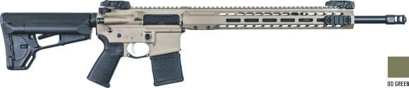 Barrett 17150 DI Rifle SYS 223CAL 18 1 MAG OD Green