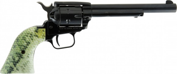 Heritage Arms RR22B6FISH1 6.5 BK LG Mouth SCL Grip Revolver