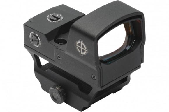 Sightmark SM26018 Core Shot A-Spec LQD 1x 28x18mm Obj 5 MOA Illuminated Red Dot Black CR1632 Lithium
