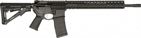 "Noveske 02000250 Light RECCE Rogue Hunter Gen 1 Semi-Auto 16"" 30+1 Magpul CTR Black Hardcoat Anodized/Stainless Steel"