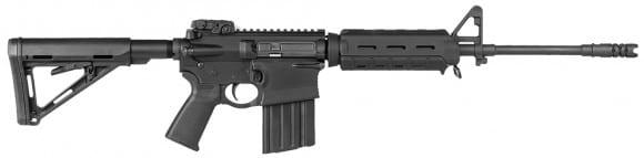 """DPMS 60232 GII MOE Semi-Auto 308 Winchester/7.62 NATO 16"""" 20+1 Magpul MOE Black Stock Black"""