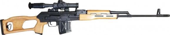 Century Arms RI3324N Romanian PSL 762X54R Rifle w/OPTIC