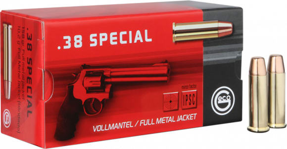 271640050 Geco 38 SP FMJ 158 GR - 50rd Box