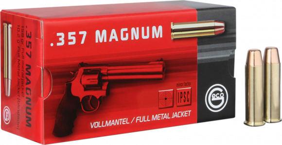 272040050 Geco 357 MagFMJ 158 GR - 50rd Box