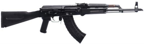AK-47 Semi-Auto Rifle Riley Defense, 7.62x39, With Mil Spec Forged Front Trunnion ,Polish Style, Polymer Furniture - AK-P-RAK102
