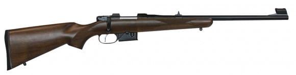 "CZ 03058 527 Youth Carbine Bolt 7.62x39mm 18.5"" 5+1 Turkish Walnut Stock Blued"