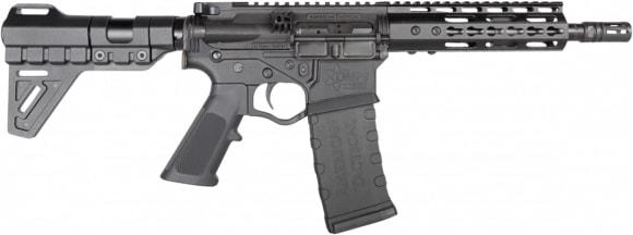 """ATI GOMX556P4B Omni Hybrid AR Type Pistol 7.5"""" BBl W/ 7"""" Keymod Rail and Blade Brace"""