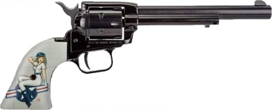 Heritage Arms RR22B6PINUP1 Heritage RR 6.50 PINUP1 Lady Luck Revolver
