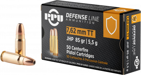 PPU PPD7T 7.62TOK 85 Jacketed Hollow Point - 50rd Box