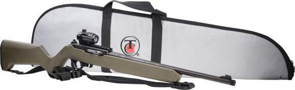 "T/C Firearms 12574 TCR22 Rifle KIT .22LR 10rd 17"" BLUED/ODG RED DOT/CASE"