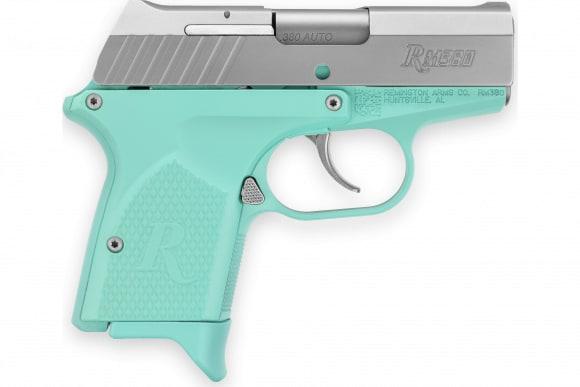 Remington 96457 RM380 380 Micro 2.9IN 6+1 Light BLUE/SS