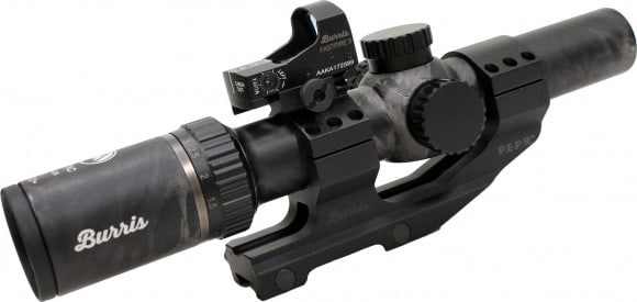 Burris 200465 MTAC* 1-4X24IL 5.56 BAL Black OUT