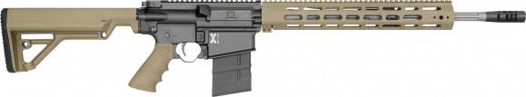 "Rock River Arms X308A1751T LAR-8 X-Series 308 Carbine Tan Semi-Auto 18"" 20+1 RRA Operator CAR Stock Black"