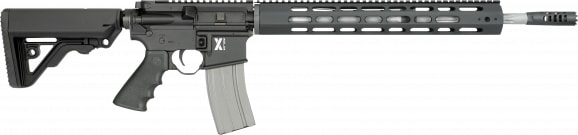 "Rock River Arms XAR1751B LAR-15 X-Series Carbine Black Semi-Auto 18"" 30+1 RRA Operator CAR Stock Black"