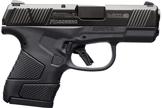 Mossberg 89002 MC-1 Striker PSTL 9 3.4 Black 6+1 Safety