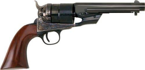 "Cimarron CA9060 1851 RICHARDS-MASON TYP2 .44SW 5.5"" FS CC/BL Walther Revolver"