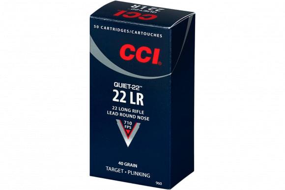 CCI 960 Quiet-22 22 LR 40 GR LRN - 50rd Box