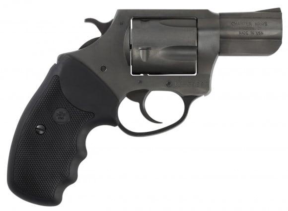 "Charter Arms 64520 Pit Bull DA/SA 45 ACP 2.5"" 5rd Black Rubber Grips Blacknitride+"