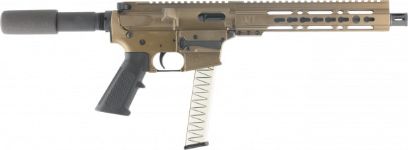 "Diamondback DB9RPBB10 DB9 AR Pistol Semi-Auto 10"" 31+1 Burnt Bronze"