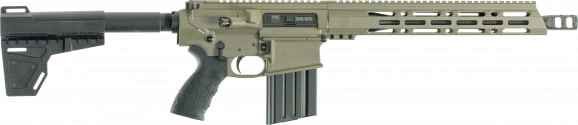 "Diamondback DB10PFDE13 DB10 AR Pistol Semi-Auto 13.5"" 20+1 Polymer Flat Dark Earth"