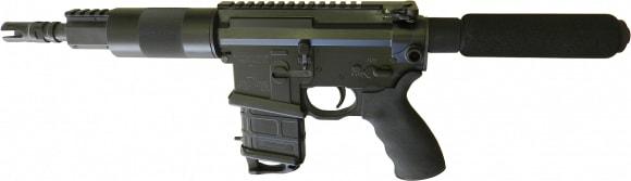 "Franklin 3094CA Salus **CA Compliant** AR Pistol SA 7.5"" 1rd Synthetic Grip Black"