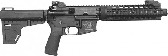 "Civilian Force Arms 010117KP Katy-15 Pistol AR Pistol Semi-Auto 7.5"" 30+1 Polymer Black Hard Coat Anodized"
