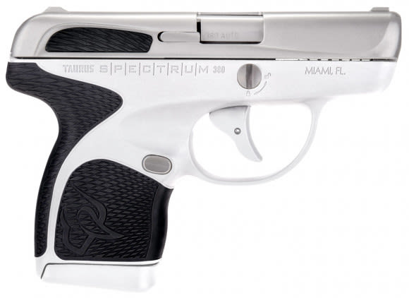 "Taurus 1007039301 Spectrum Double 380 ACP 2.8"" 6+1/7+1 Black Polymer Grip Stainless"