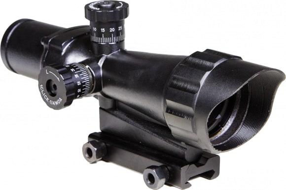 Sun Optics CS23TR3540 CQB 3.5x 40mm Obj Black Mil-Dot