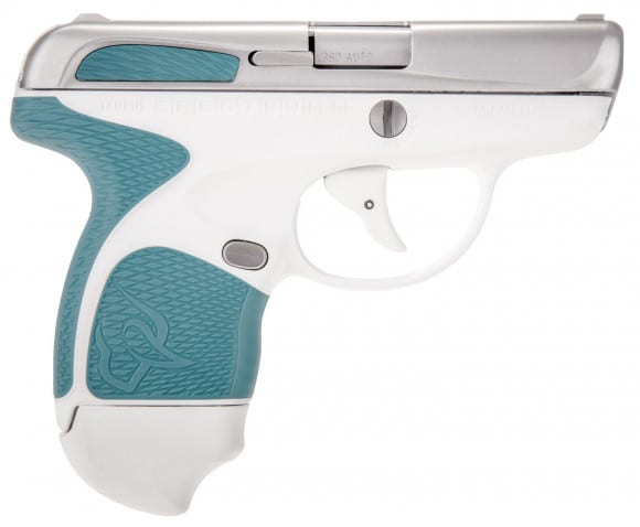 "Taurus 1007039310 Spectrum Double 380 ACP 2.8"" 6+1/7+1 Laguna Blue Polymer Grip Stainless Steel"