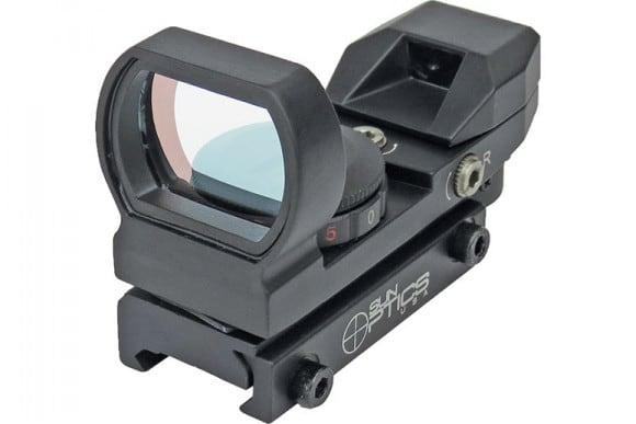 SUN CD13-RRG 23X33MM Reflex Sight R/G 4-RET
