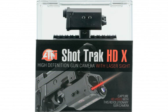 ATN SOGCSHTR2 Shot Trak-X HD Video Camera 1920 x 1080p 5mW Red Laser Black