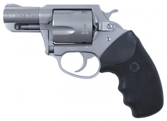 "Charter Arms 73520 Mag Pug Standard DA/SA 357 Magnum 2.2"" 5 Black Rubber Stainless"
