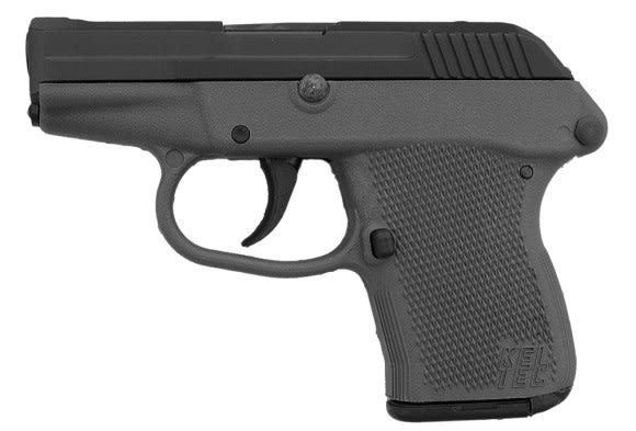 "Kel-Tec P3ATPKGRY P-3AT 380 ACP Double 380 ACP 2.7"" 6+1 Gray Polymer Grip Black Parkerized"