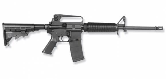 "Bushmaster XM-15 A2 .223 Remington AR-15, 16"" Heavy Barrel - 90212"