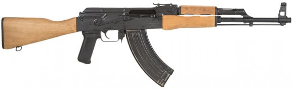 Romanian WASR-10 AK-47 Rifle w/ Mil Style Wood Stock and Forearm, and 30 Round Mag